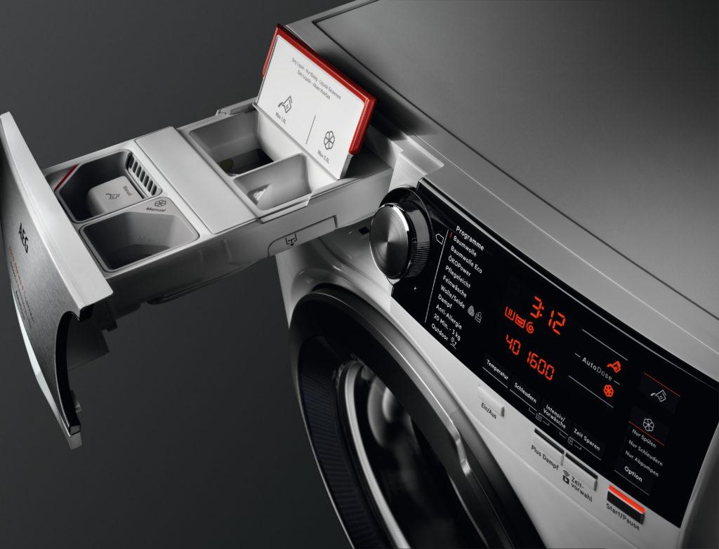 AEG – Novinka automatické dávkování AutoDose