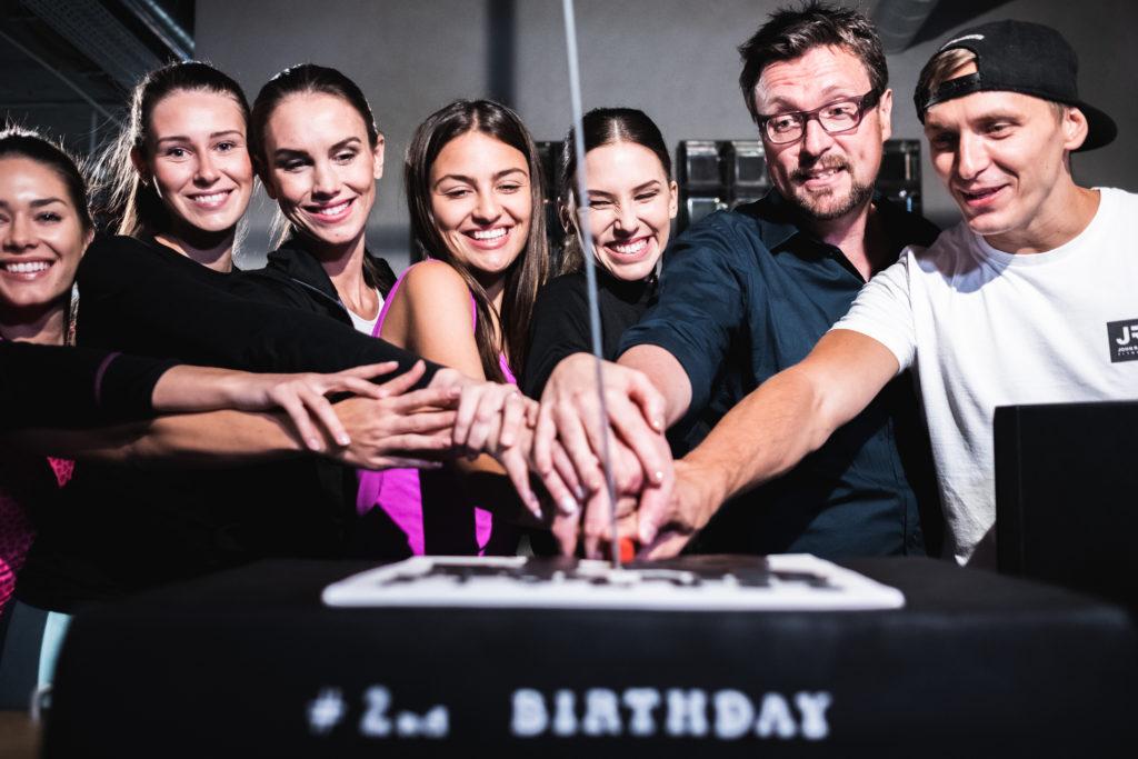 John Reed Fitness Music Club oslavil 2. narozeniny
