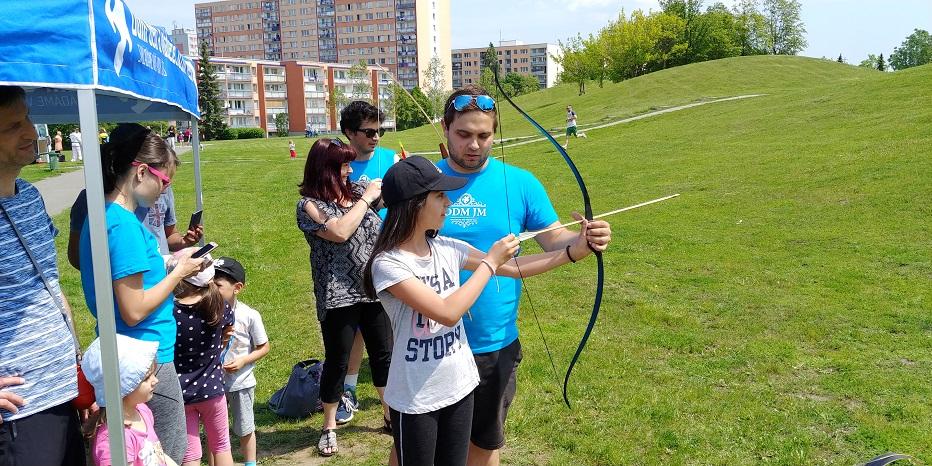 Za sportem i zábavou na soutěžní akci Rodinná výzva