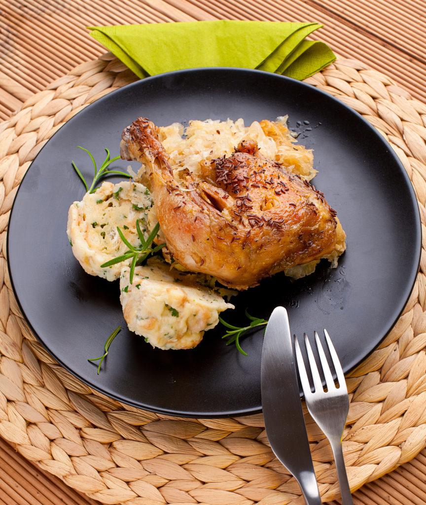 """Recept na svatomartinské """"kuře"""""""