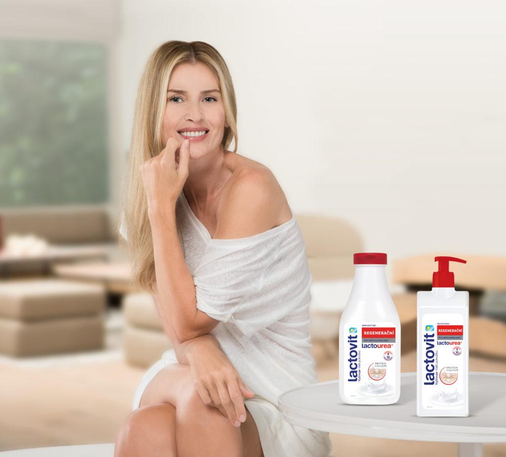 Daniela Peštová se stala tváří značky Lactovit