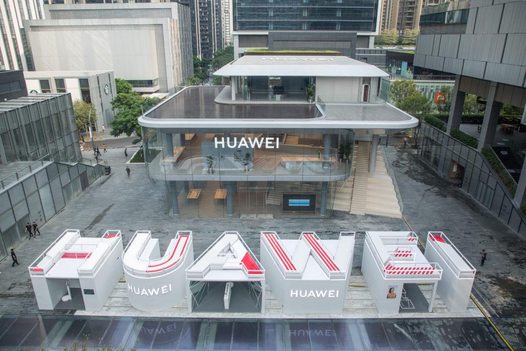 Huawei otevřel v Shenzhenu první vlajkový obchod
