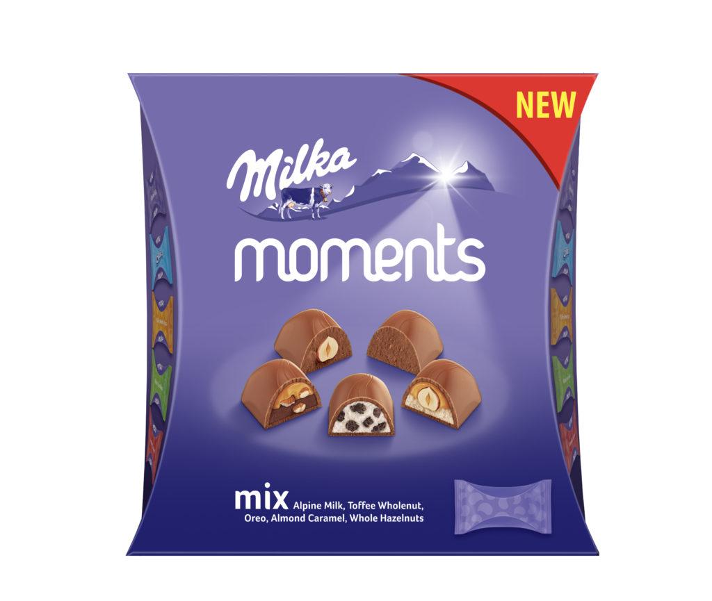 Kouzelné momenty s Milka pralinkami