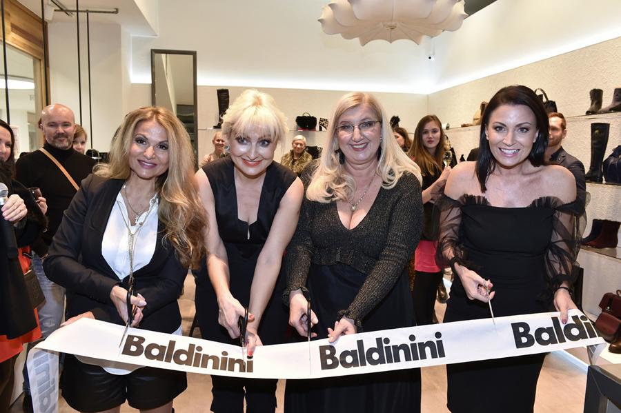 Baldinini otevřelo nový butik ve Slovanském domě