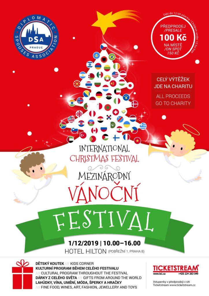 Mezinárodní vánoční festival DSA Prague je připraven i letos pomáhat