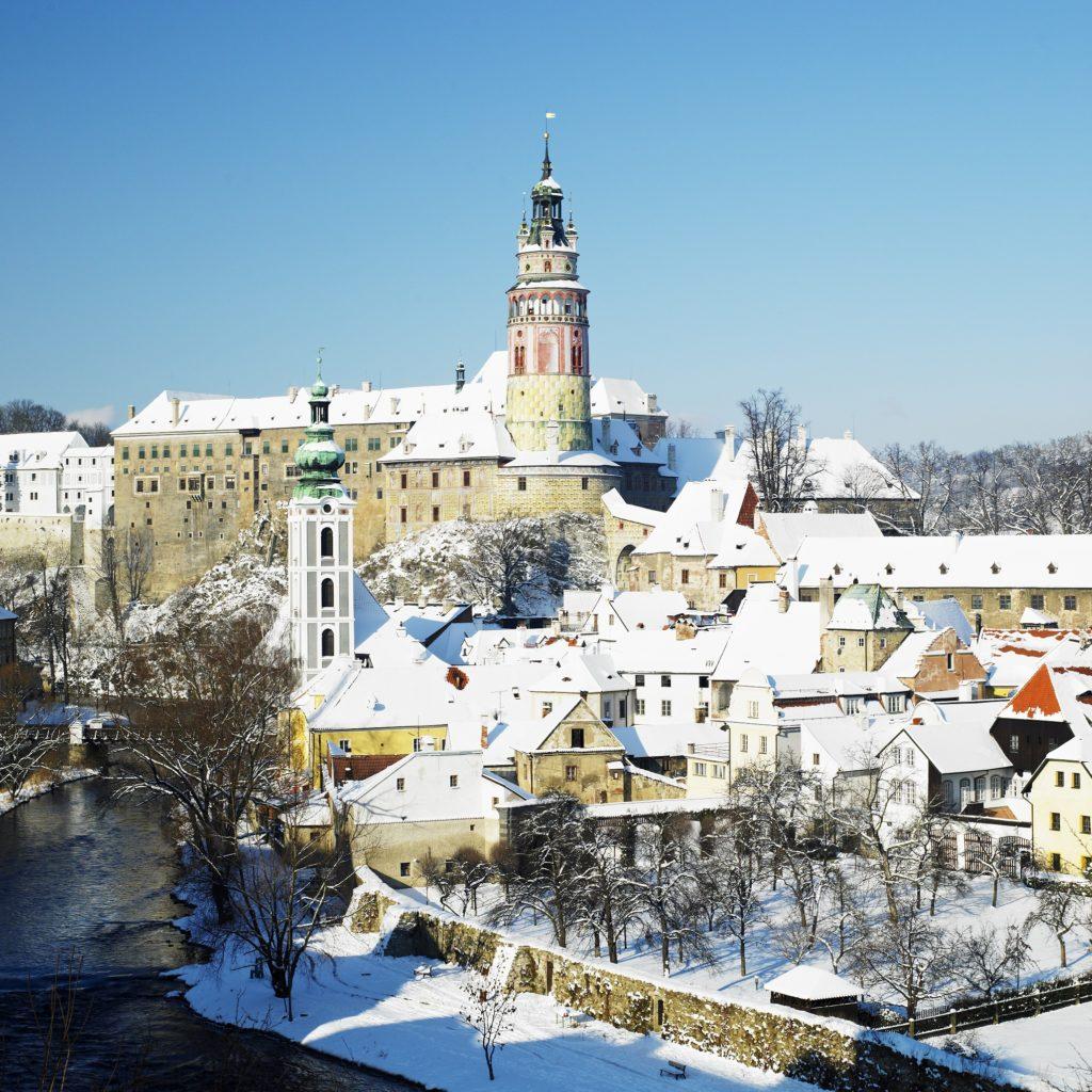 Český Krumlov stojí za návštěvu i v zimě
