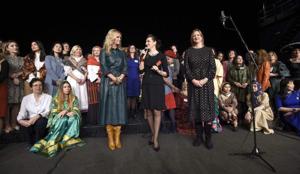 Mezinárodní vánoční festival DSA Prague ovládl první adventní neděli Kongresový sál hotelu Hilton