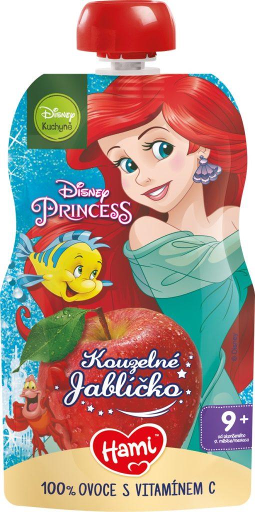 Nové ovocné kapsičky od Hami s přebaly s Disney motivy