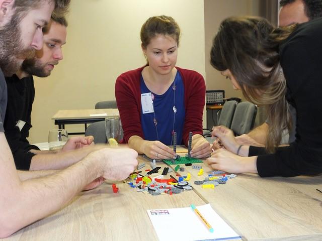 Teambuilding s kostkami LEGO®