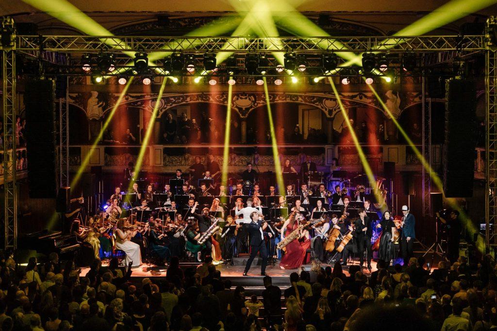 FOTOGALERIE – Galakoncert Police Symphony Orchestra s hvězdnými hosty