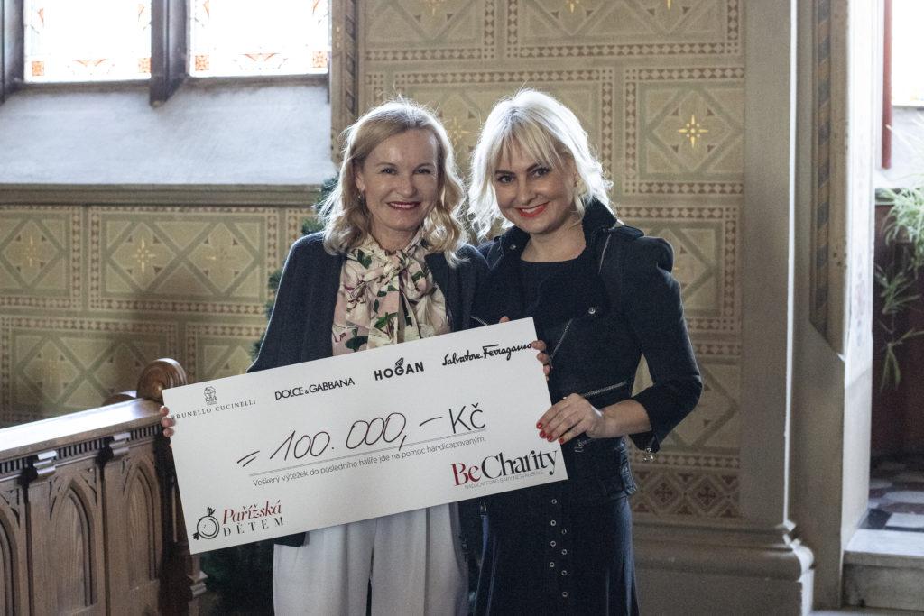Třetí ročník charitativního projektu Pařížská dětem podpořil handicapované více než půl milionem korun