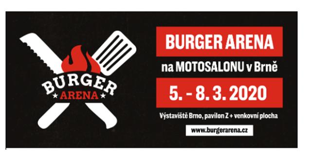 BURGER ARENA bude největší streetfoodový festival v Česku