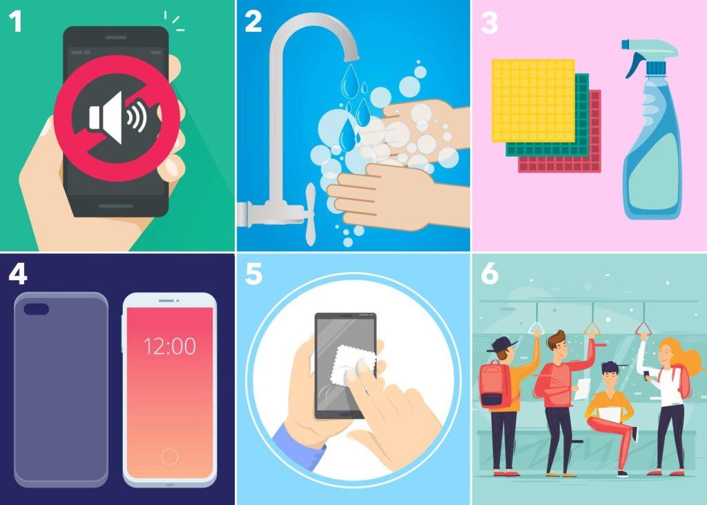 Nedejte virům šanci. Jak dezinfikovat mobilní telefon?