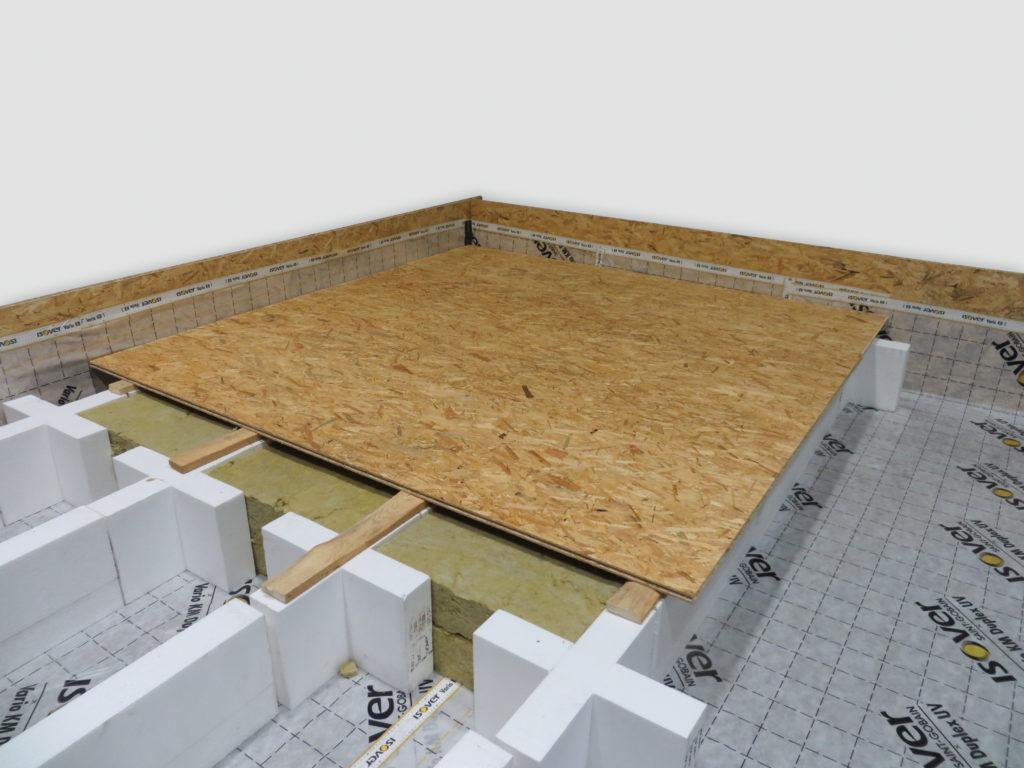 Jak na zateplení podlahy na půdě svépomocí
