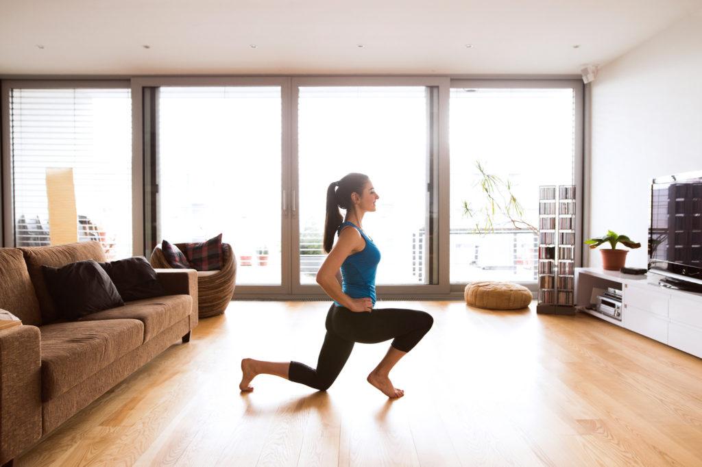 Inspirace na zábavné domácí cvičení pro ženy