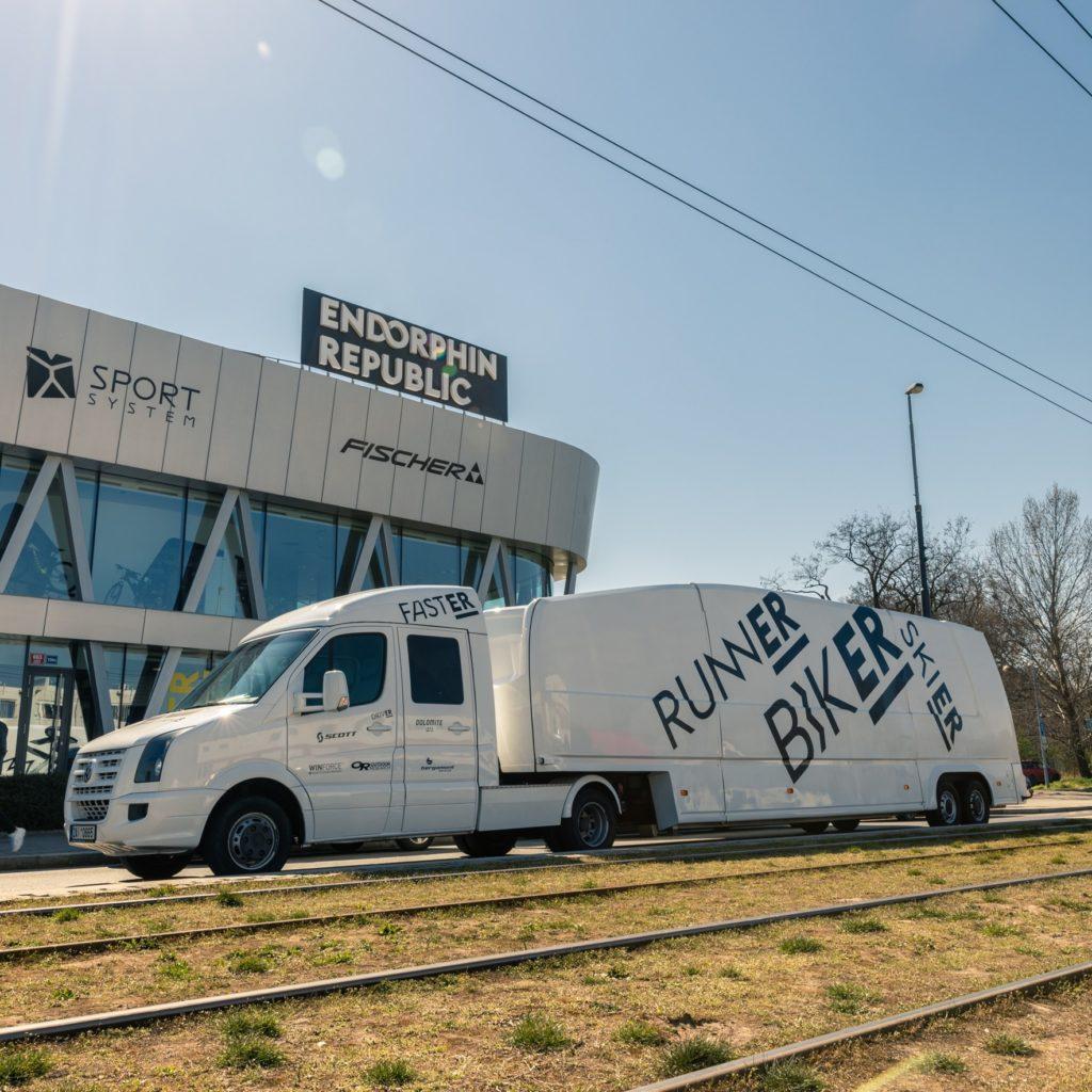 Endorphin Republic jezdí až k zákazníkům s pojízdnou prodejnou