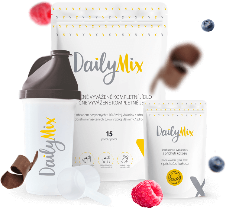 Novinka DailyMix, revoluce v rychlém a nutričně vyváženém stravování