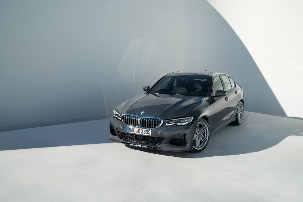 ALPINA odhaluje nejrychlejší diesel ve svém segmentu model BMW ALPINA D3 S