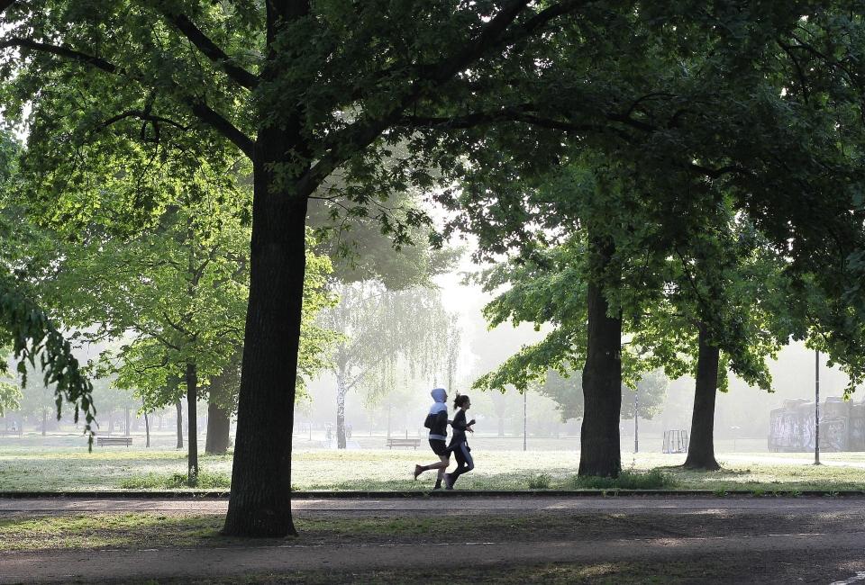 Nevyhýbejte se sportování na čerstvém vzduchu