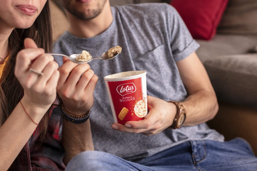 Oblíbené karamelizované sušenky Lotus Biscoff nyní i ve zmrzlině