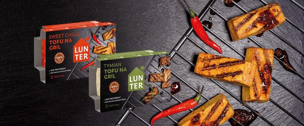 Lunter představuje tofu novinky pro letošní grilovací sezónu