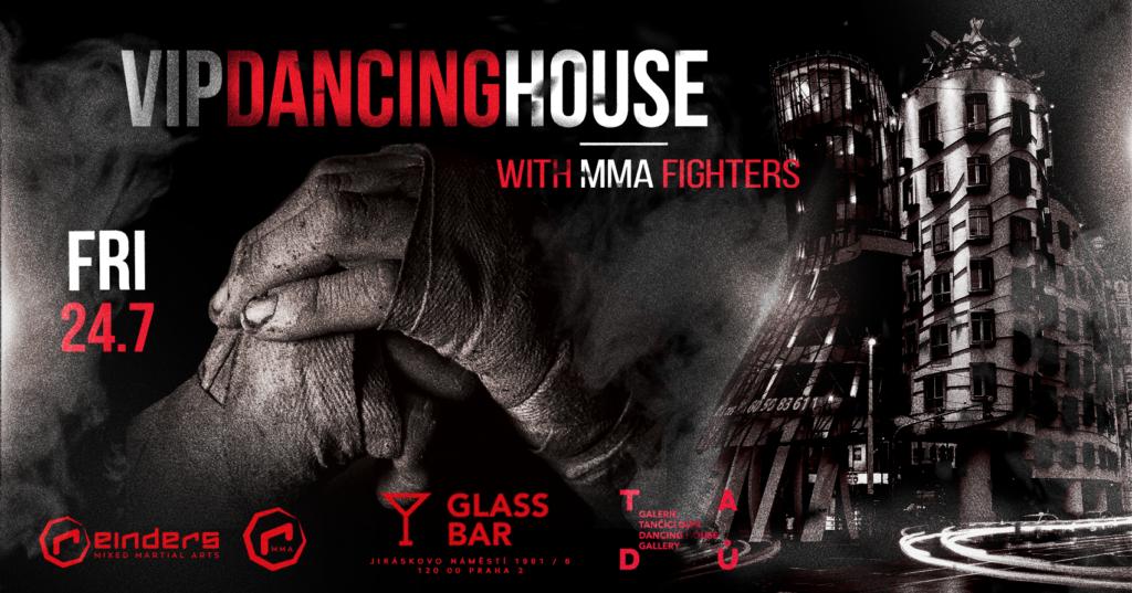 Hvězdy MMA vás zvou na střechu Tančícího domu