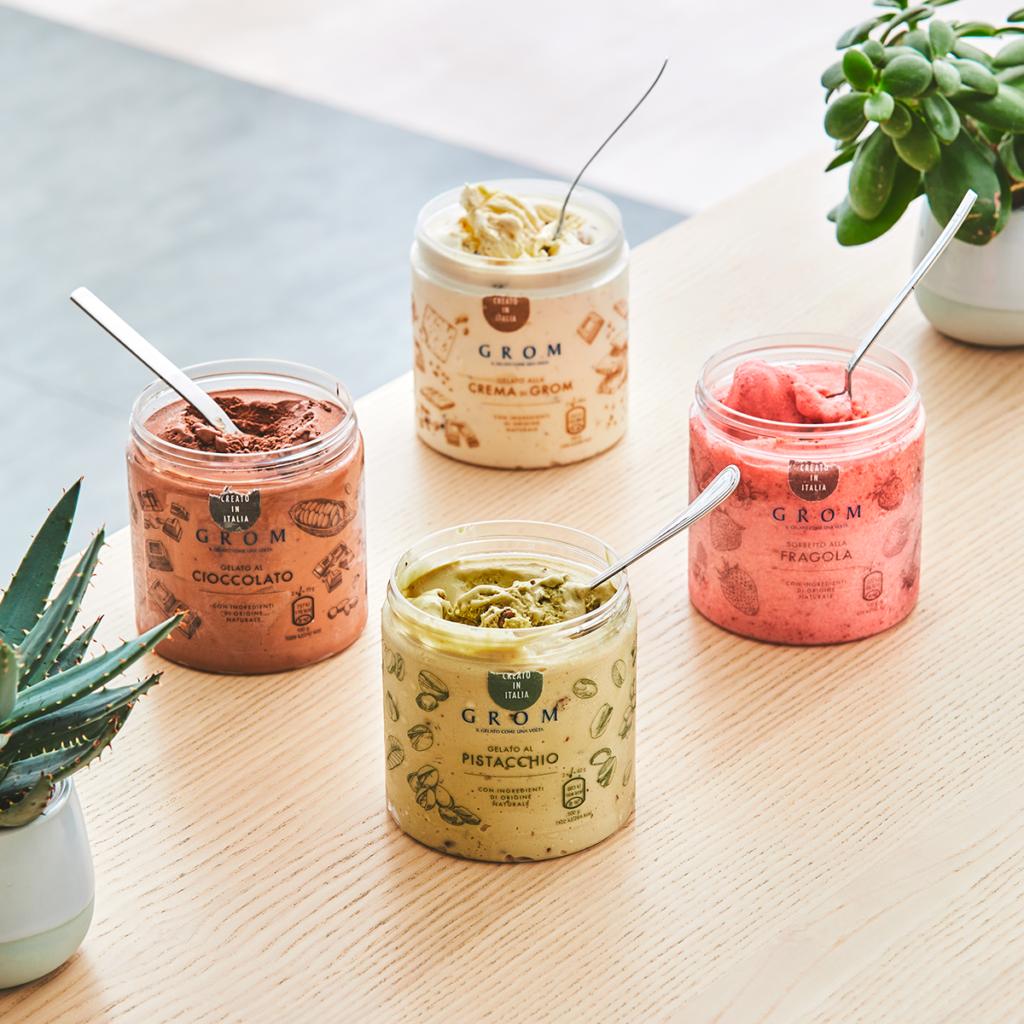 Slavná italská značka gelata GROM přichází do Česka