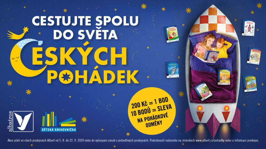 Cestujte se svými dětmi do světa českých pohádek, inspiruje Albert v nové kampani