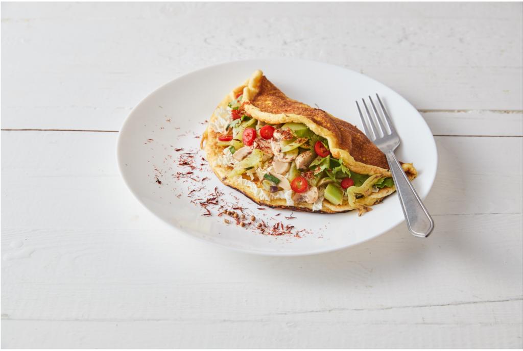 Nové nadýchané omelety KetoMix