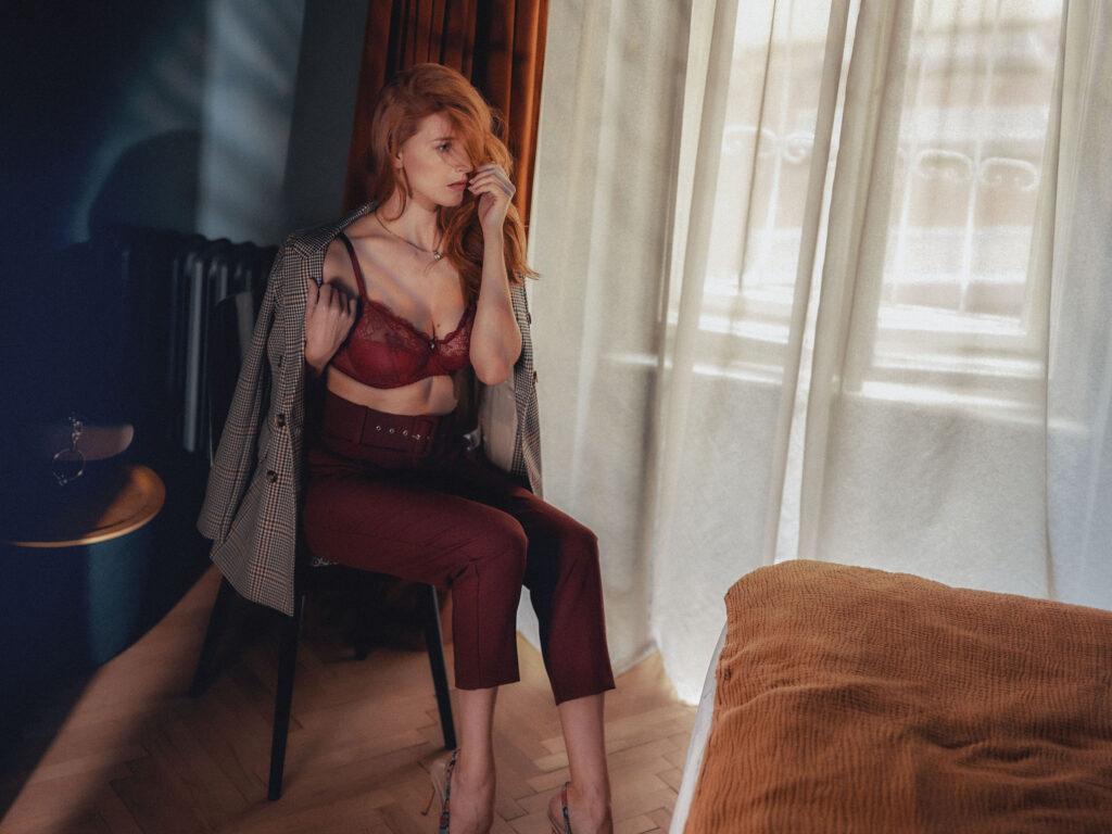 Sexy elegance a smyslnost v podzimních barvách
