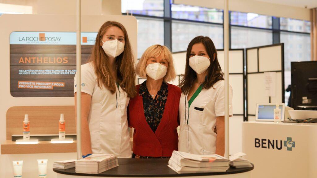 Herečka Dana Batulková zahájila kampaň na zvýšení povědomí o osteoporóze
