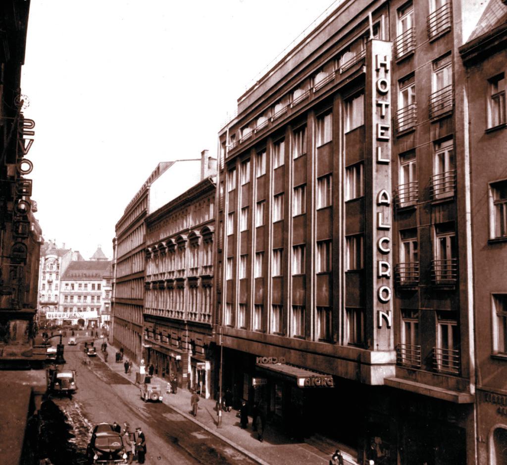 Za rok oslaví hotel Alcron 90. let