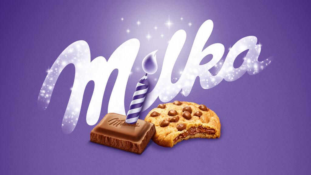 Milka slaví 120. narozeniny a rozdává dárky
