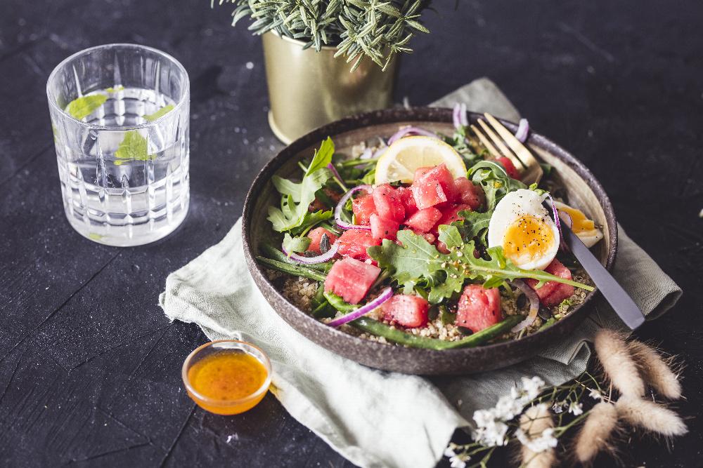 Připravte si čtyři lehká jídla s melounem Bouquet