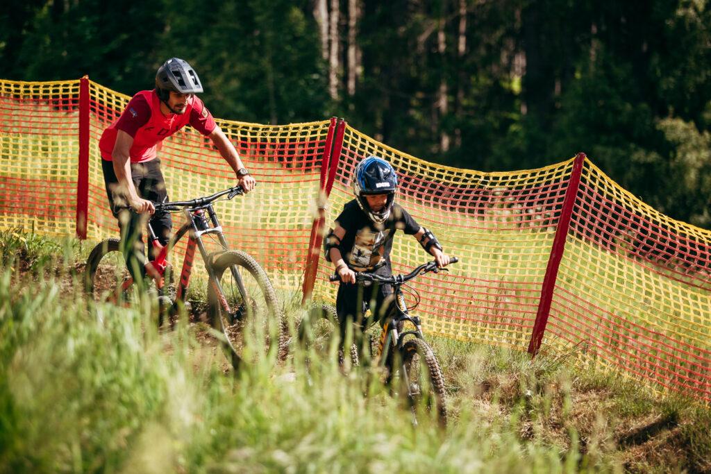 Na horách to zkuste z kopce dolů taky na kole