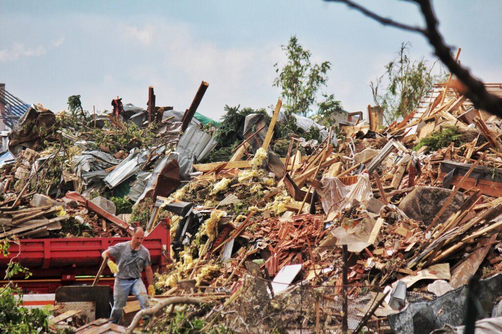 Partnerství vytvořilo skladovací prostory, které pomohou při řešení důsledků živelních pohrom