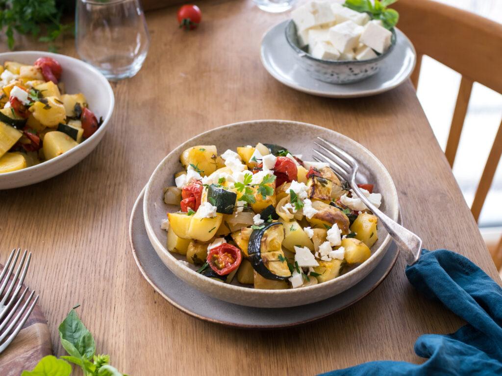 Briam – dokonalé jídlo z jednoho hrnce s vůní Středomoří
